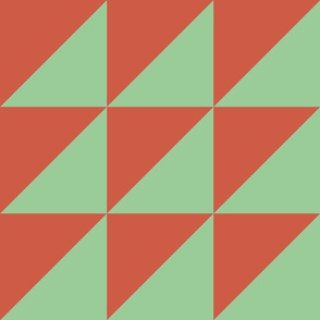 Half triangle A Clay Green