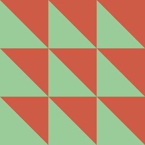 Half triangle B Clay Green