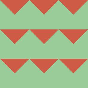 Quarter triangle A Green Clay