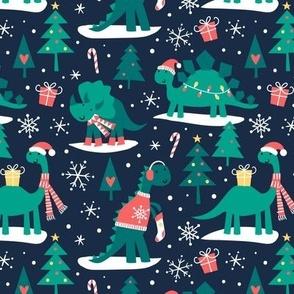 Christmas Dino 2