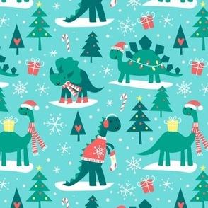 Christmas Dino