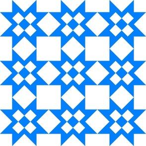 Star Crossed Blue checkerboard-clean