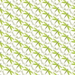 Golden Pond-dragonfly green