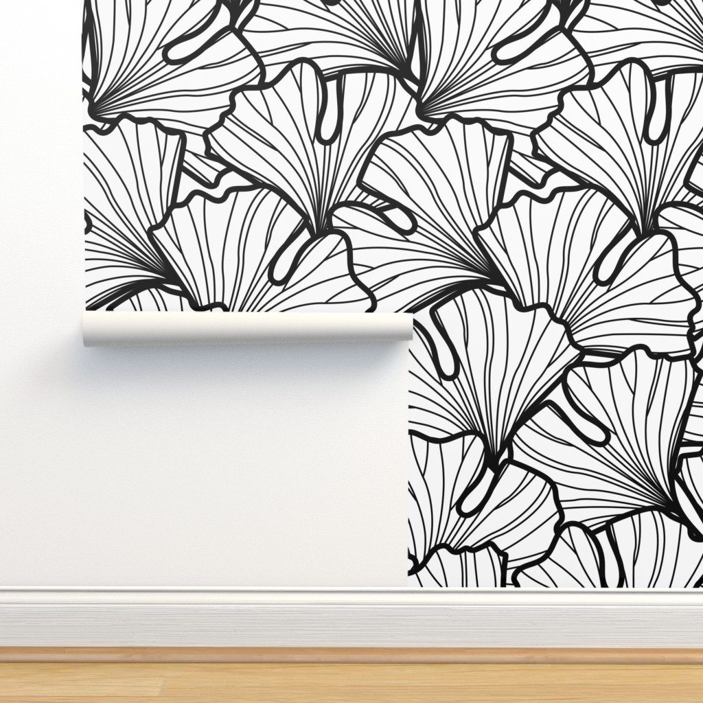 Isobar Durable Wallpaper featuring Go Go Ginkgo by nanshizzle