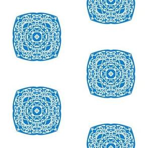 Blue small tile - complex