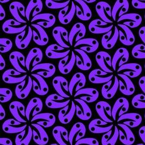 Purple Dottie