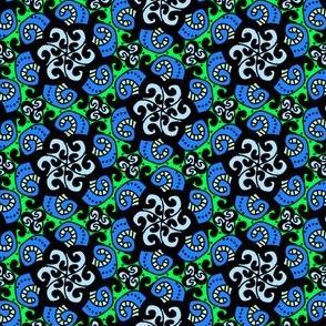 Swirl Me Blue