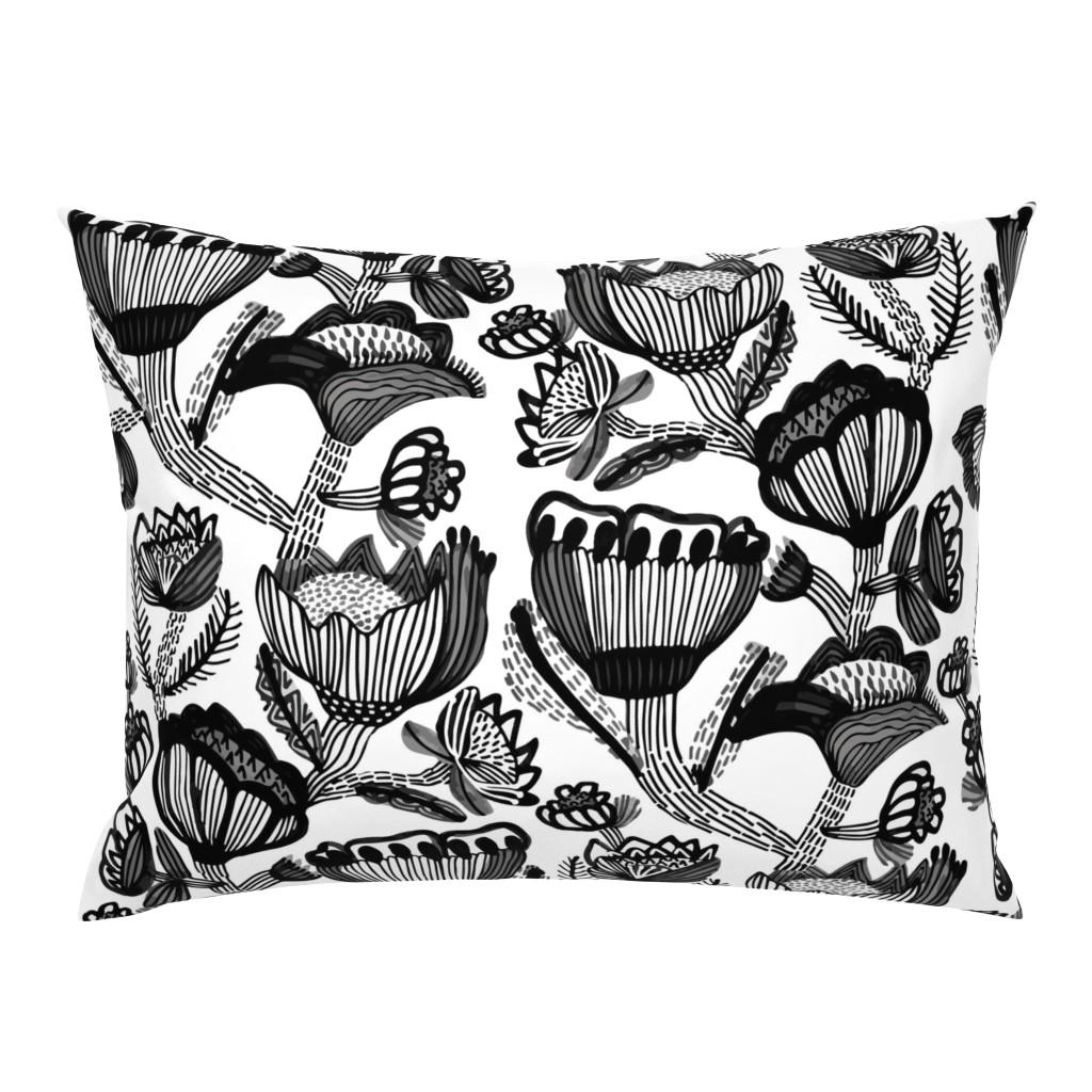 Campine Pillow Sham featuring Botanica by kirstenkatz