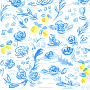 lemon toile