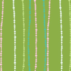 Groovy Dots Green