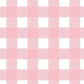 Canada camping theme buffalo plaid check design abstract baby nursery design christmas winter girls pink