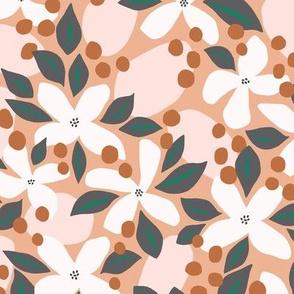 Neptunes Garden | Pink & Peach