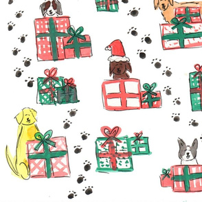 Dogs in Presents