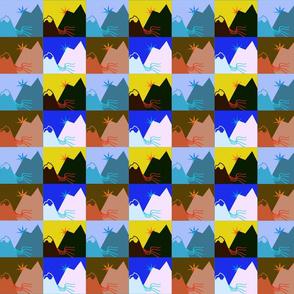 Swedish quilt art