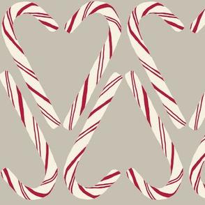 Candy cane  zig zag