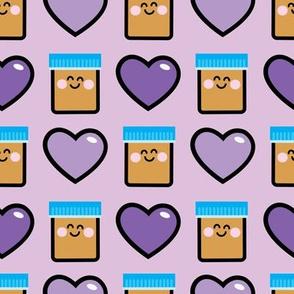 aloha peanut butter with hearts