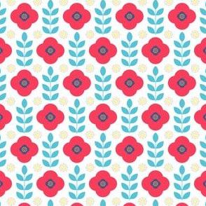 Poppy Field in Fuzzy Felts