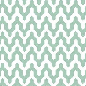 Chevron - Teal