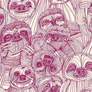 just sloths cherry pearl