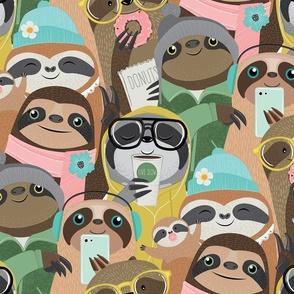 big city sloths