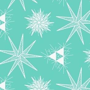 Triforce Ornamental Star Snowflake Tile
