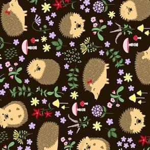 Tea Towel Hedgehogs
