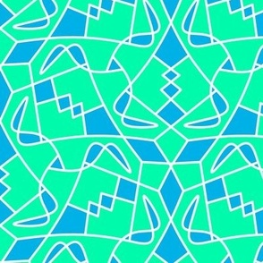Horns Turquoise Tile