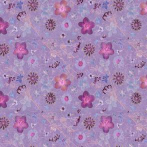 lilac soft garden dark