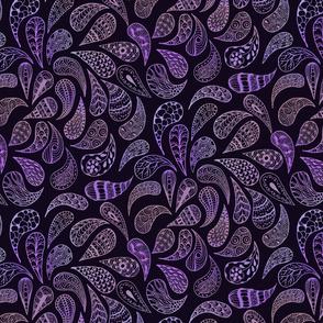 Zen Paisley purples