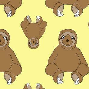 Sweet Sloth - Yellow