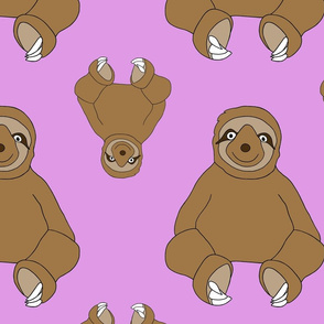 Sweet Sloth - Pink
