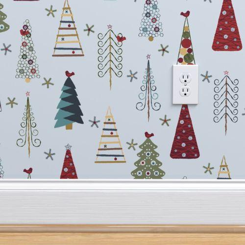 Danish Christmas Trees: Scandinavian Christmas Trees Vintage HD