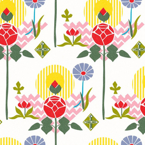 Swedish Modern Floral