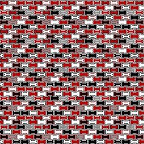 Dog Bones - Black and Red