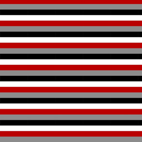 Stripes - Red and Black