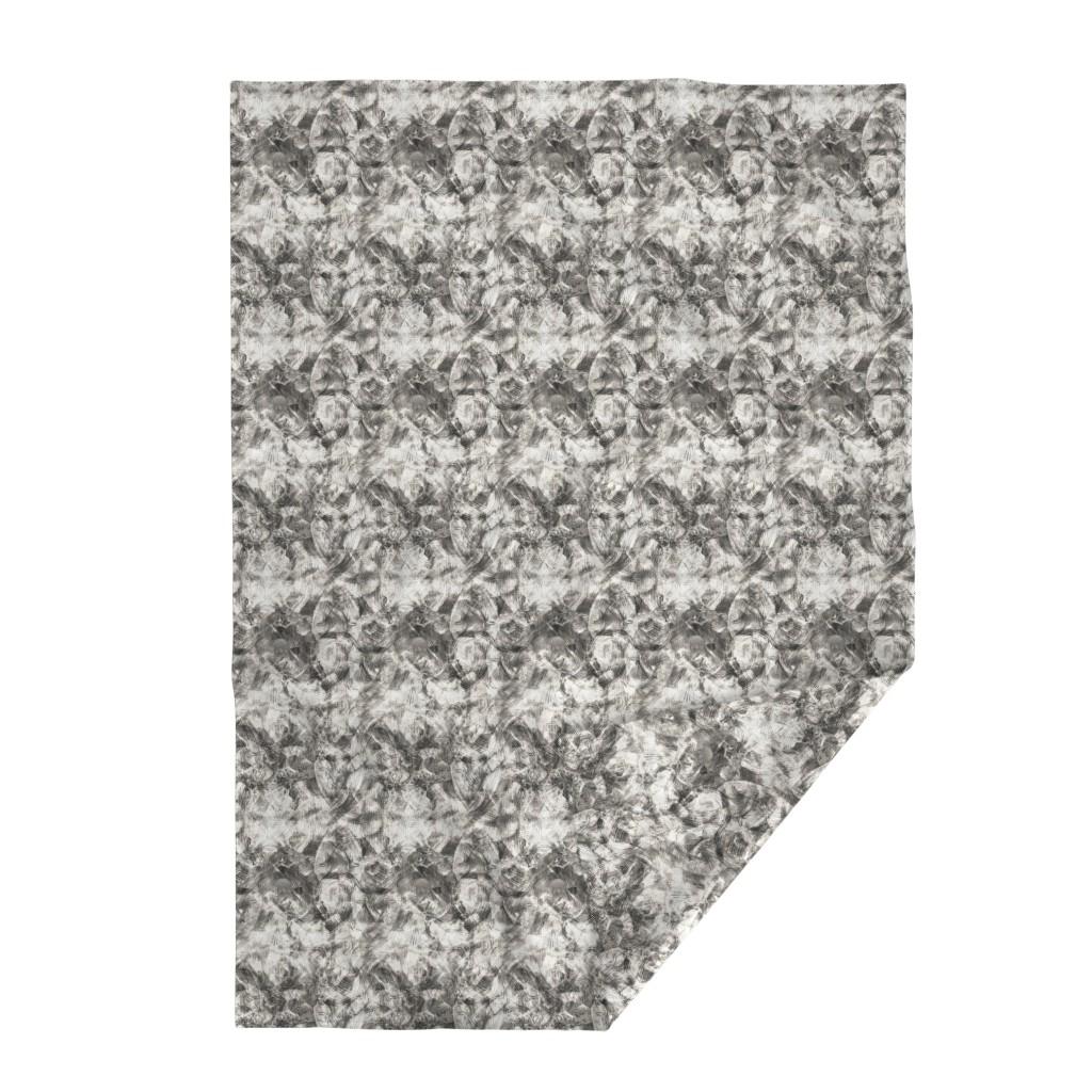 Lakenvelder Throw Blanket featuring monument in grayscale by wren_leyland