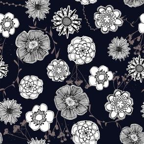flower papercut