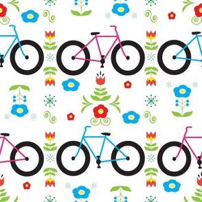 Biking in Scandinavia