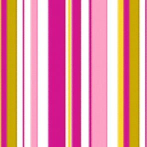18-03h Hot Pink Chartreuse Large Stripe _ Miss Chiff Designs