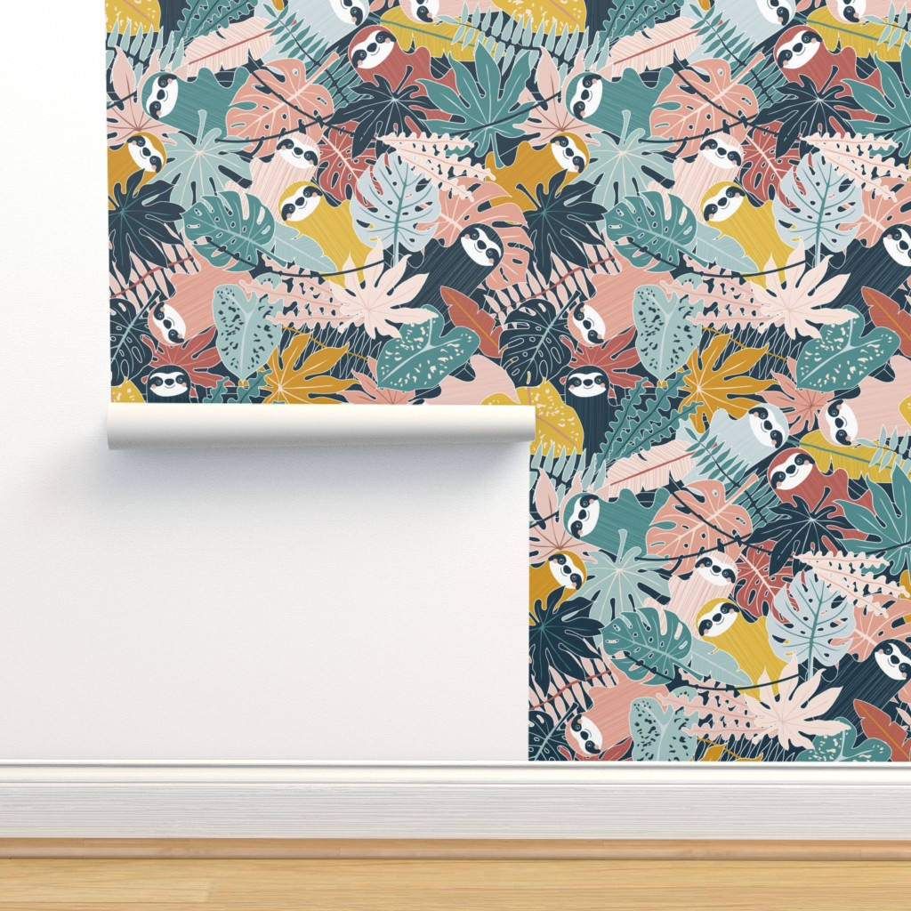 Isobar Durable Wallpaper featuring Canopy Company by nanshizzle