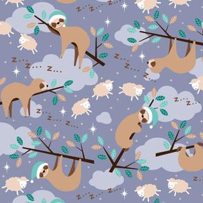 bedtime sloth