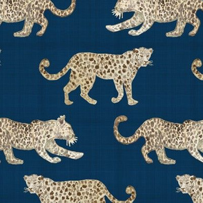 Leopard Parade Blue