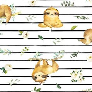 """18"""" Zen Sloths"""