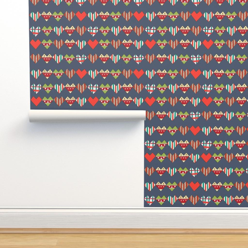 Isobar Durable Wallpaper featuring Hand made hearts by nina_savinova