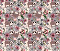 Lovable Sloths - Large