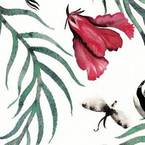 sloths_moths_leaves_hibiscus