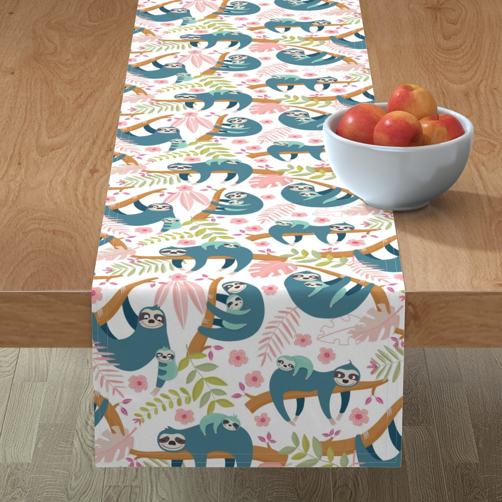Minorca Table Runner featuring Solths families by martamunte