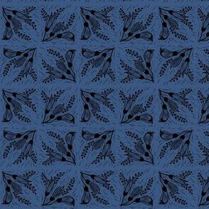 Kowhai black blue