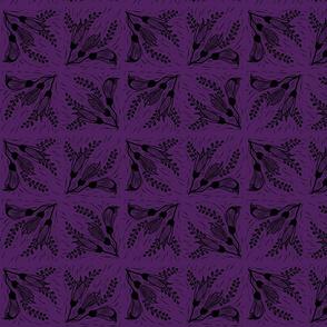 Kowhai black purple