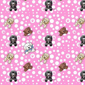 TINY Pocket DOODLES Pink-edited
